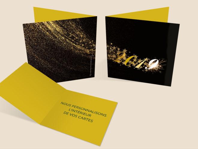 Carte Noël - Étoile Filante