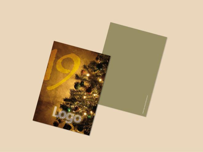 Carte Noël - Sapin de Lumière