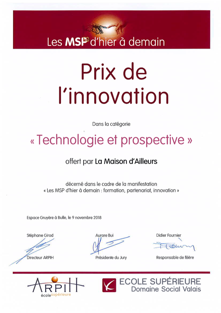 Prix de l'innovation MSP