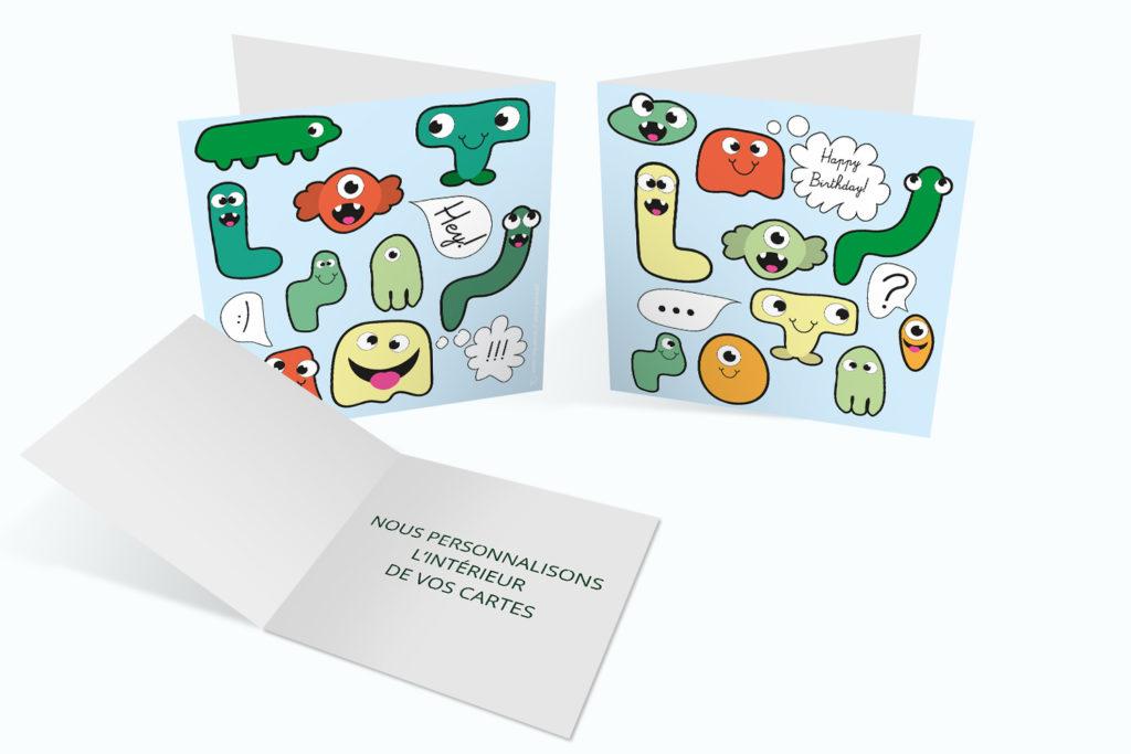 Carte Anniversaire - Ectoplasmes