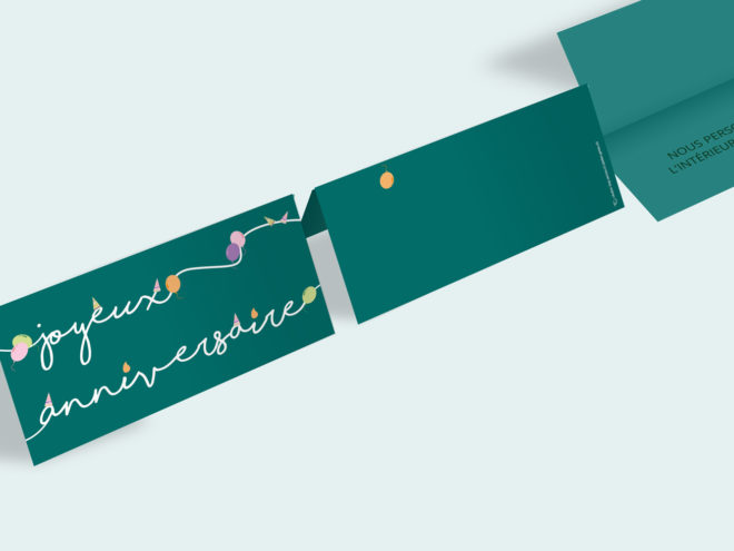 Carte Anniversaire - Joyeux Anniversaire