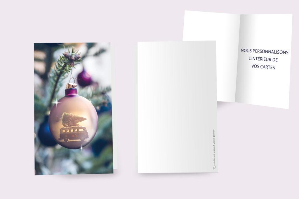 Carte Noël - Grande Boule
