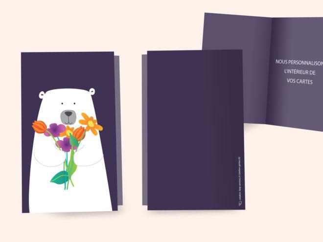 Carte Anniversaire - C'est le Bouquet